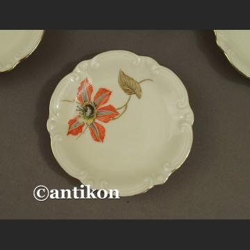 Skapki do herbaty porcelanowy zestaw talerzyków