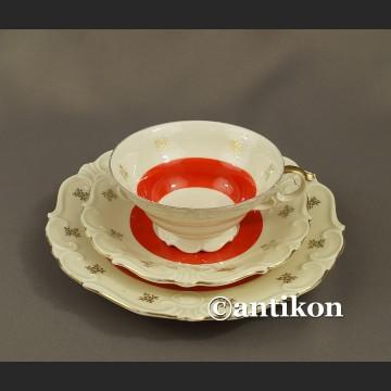 Filiżanka kolekcjonerska stara śląska porcelana Parowa Tiefenfurt