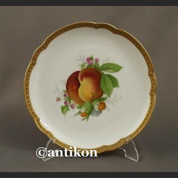 Porcelana Rosenthal talerz deserowy z owocami 1