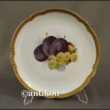 Porcelana Rosenthal talerz deserowy z owocami 2