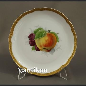 Porcelana Rosenthal talerz deserowy z owocami 3
