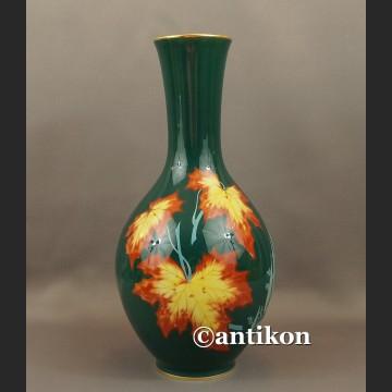 Wazon Rosenthal duży porcelanowy jesienne kolorowe liście z 1938 r.