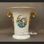 Wazon Rosenthal olbrzym biały porcelanowy w stylu biedermeier