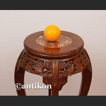 Kolumna drewniany postument wysoki stolik pod rzeźbę lub kwiaty