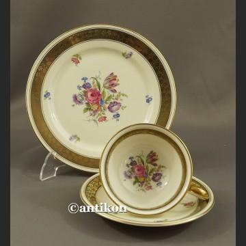 Filiżanka Rosenthal kolekcjonerska Śniadaniówka stara bawarska porcelana trio