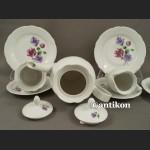 Serwis kawowo herbaciany Fiołki Kahla