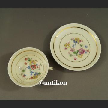 Filiżanka Limoges Art Deco kolekcjonerska francuska porcelana