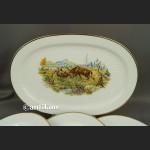Serwis obiadowy do dziczyzny na 6 osób Hutschenreuther Tirschenreuth grupa Rosenthal