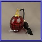 Szklana perfumetka butelka z atomizerem z Murano