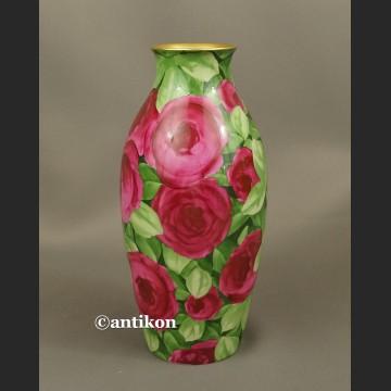 Wazon Rosenthal unikat przedwojenny róże ręcznie malowane
