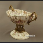 Patera porcelanowa z ptaszkami