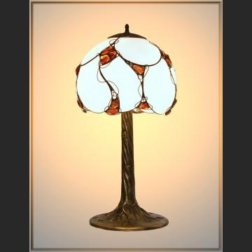 Duża lampa znakomity bałtycki bursztyn