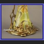 Karafka dzban secesyjny piękna porcelana