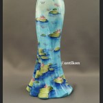 Niesamowity wazon suknia jak Monet nenufary