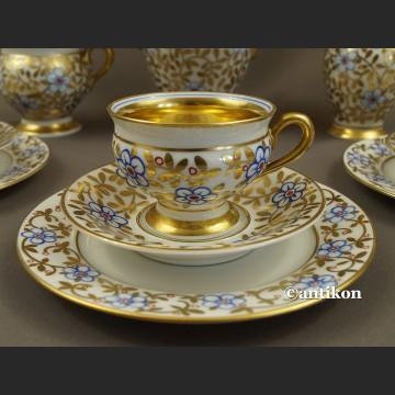 Serwis złoty Thomas Rosenthal Bavaria Empire ręcznie malowany
