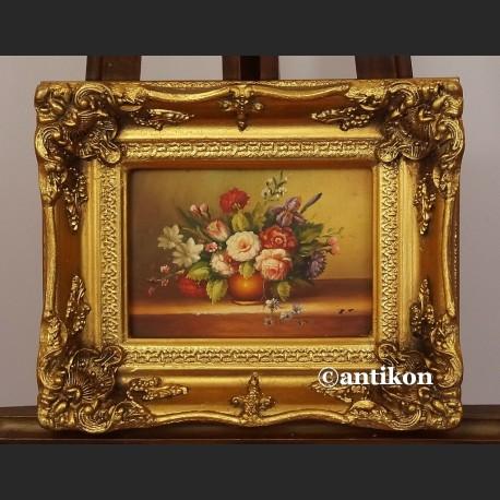 Obraz olejny Kwiaty martwa natura