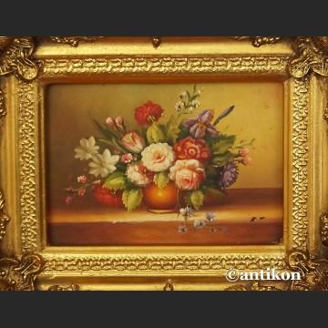 Obraz kwiaty  olejny  martwa natura