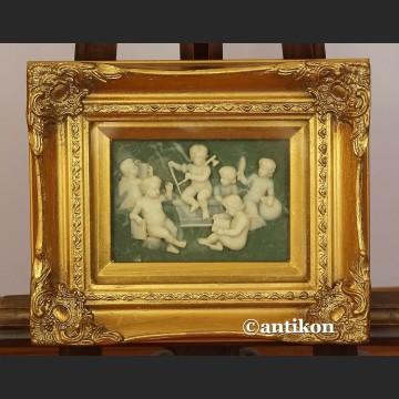 Relief alabastrowy obraz z alabastru
