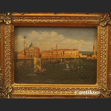 Obraz olejny piękna Wenecja