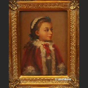 Obraz olejny portret księżniczki