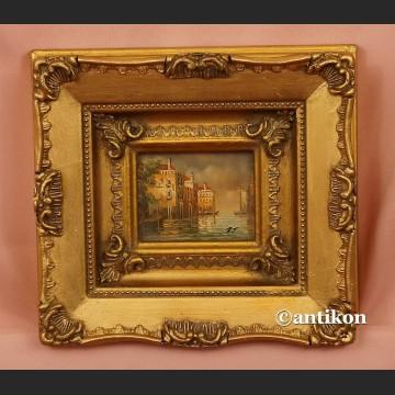 Obraz olejny miniatura Wenecja