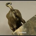 Rzeźba Byk giełdowy z prawdziwego brązu