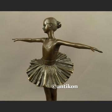 Rzeźba baletnica Degas figurka baleriny wspaniały brąz Francja