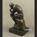 Myśliciel A. Rodin figura z brązu duża