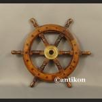 Koło sterowe małe na jacht lub marynistyczna dekoracja