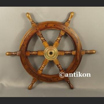Koło sterowe duże na jacht lub marynistyczna dekoracja