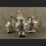 A. Frenais posrebrzany serwis do kawy i herbaty