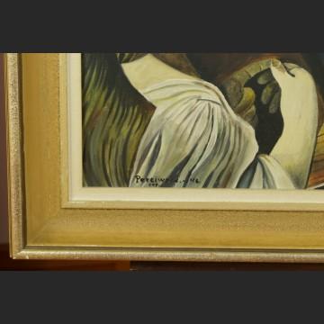 Obraz olejny portret mędrca