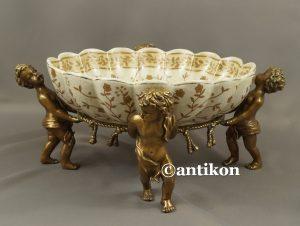 porcelanowa patera z aniolami