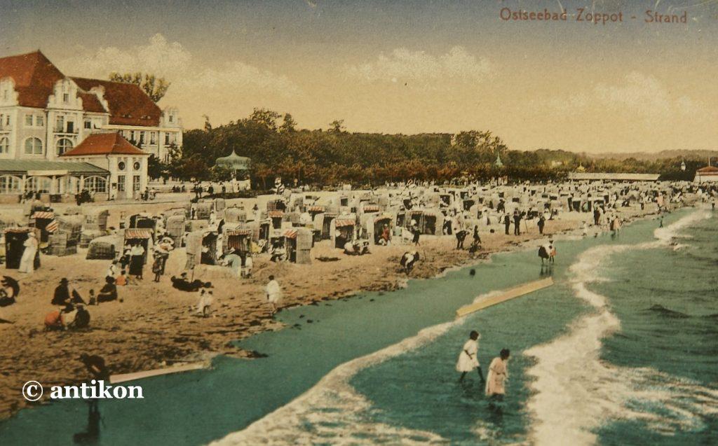 sopot plaża