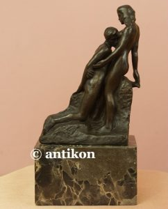 kochankowie rzeźba rodin